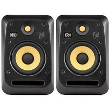 KRK V6S4 Black 6-Inch Active Powered DJ Recording Studio Monitor Speaker (Pair)