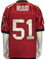 Tampa Bay Buccaneers Barrett Ruud NFL Reebok Stitched Football Jersey Size 50