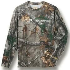 CHEVY LONG SLEEVE SHIRT Realtree XTRA Performance TShirt CAMO HUNTING SILVERADO