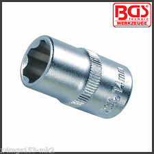 "BGS - 14 mm Socket - 6 Point - ""Super Lock"" - 1/2"" Drive - Pro Range - 2414"