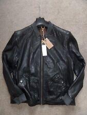 Para Hombres Timberland Mount Webster bomber de piel de cordero cuero chaqueta abrigo Motorista M £ 589
