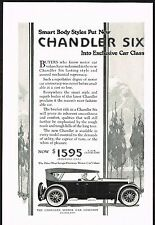 1922 Old Vintage Chandler Six Touring Motor Car Automobile Art Print Ad