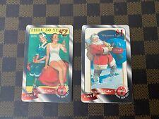 1996 COCA COLA $1 and $2 SPRINT PHONE CARDS LOT 2 - RARE - Unused!