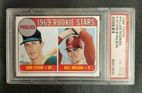 1969 Topps #576 PHILLIES ROOKIE STARS **PSA 6 (EX-MT)** BEAUTIFUL & SHARP! L@@K