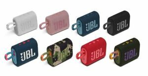 JBL GO 3 Portable Waterproof Bluetooth Speaker - 11 Colors