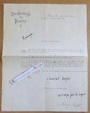 Lettre 1926 Monseigneur Emmanuel CHAPTAL Evêque de Paris - Comité National Russe