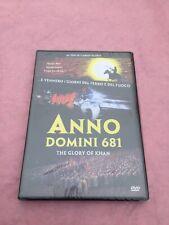 """ANNO DOMINI 681 """"THE GLORY OF KHAN"""".DVD NUOVO CONFEZIONATO!!"""