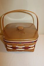 2012 Longaberger Napkin Carrier Make a Basket Set - New