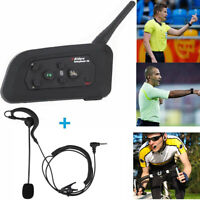 1200m Motorcycle Helmet Intercom Headset BT Interphone Referee Communication ATV