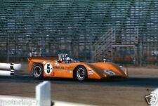 CAN Am fotografia DENNY HULME McLAREN m8 a m8a USA 1970