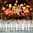 """6""""8""""10""""12""""14""""16""""18""""20"""" Lot Color Chinese Paper Lanterns Wedding Party Decoration"""