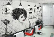 3D Perm Hair Shop KEP690 Wallpaper Mural Self-adhesive Removable Jenny