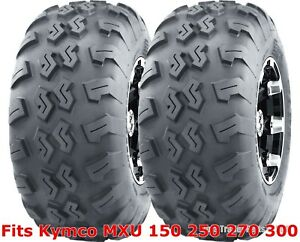 Kymco MXU 150 250 270 300 ATV Rear Tires Set 22x10-10 22x10x10