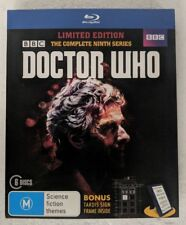 DOCTOR WHO Complete Series 9 Blu-Ray 6-DISC Region B oz seller Limited Edition