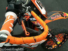 KTM 690 SMC  2011 2012   BRAKE AND CLUTCH ORANGE FOLDING LEVERS RACE TRACK TS87