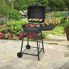 Barrel Barbeque BBQ Small Grill Pit Traditional Charcoal Portable Mini Grills