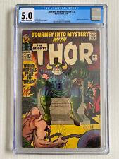 Journey into Mystery #122 CGC 5.0 - 1965 - Odin Absorbing Man Loki