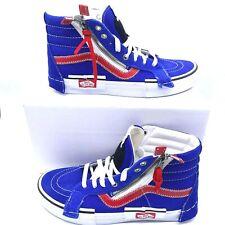 Vans Sk8-Hi Reissue Cap Surf Zipper Blue Sneaker Shoes Men's Sz 7.5 / Wmns Sz 9