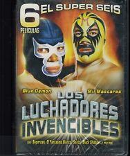 Los Luchadores Invencibles (DVD, 2006, 3-Disc Set)