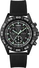 Timex T2N886 Sport Chrono Men's - 44mm - with Pleasant to tragendem Silicone