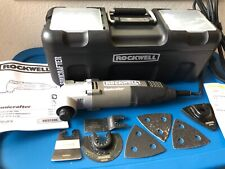 Rockwell RK5139K Sonicrafter Hyperlock with Universal Fit Oscillating Tool Kit