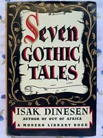 Seven Gothic Tales Isak Dinesen Modern Library 1934 with DJ