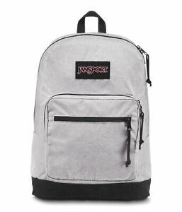 """Jansport """"Right Pack DE Digital Edition"""" Backpack Suede School Book Laptop Bag"""