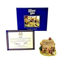 Lilliput Lane Wash Day 1996 Vintage Boxed Deeds Collectable Ornament Brand New