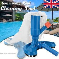 Swimming Pool Vacuum Brush Suction Head Pond Fountain Vacuum Cleaner UK