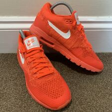 Nike Air Max Ultra Flyknit Ladies Womens Red Trainers UK Size 5.5
