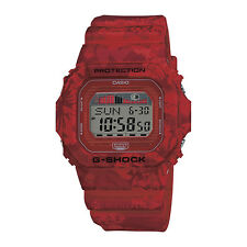 CASIO Uhr Watch G-Shock Floral Camo Pack red - GLX-5600F-4ER NEU