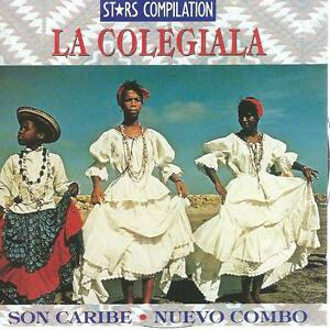CD album LA COLEGIALA - SON CARIBE NUEVO COMBO stars compilation WORLD MUSIC 91