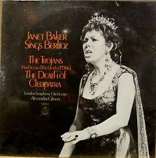 SEALED Angel LP JANET BAKER SINGS BERLIOZ The Trojans The Death Of Cleopatra
