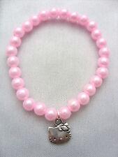 5 x Rose Enfants,Fille Hello Kitty Charme Bracelets de montre,Pochette Surprise