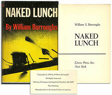 New listing William Burroughs Naked Lunch 1st Edition