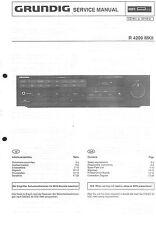 Grundig Original Service Manual für  R 4200 MKII