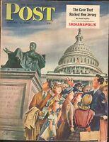 AUG 7 1948  SATURDAY EVENING POST - magazine - WASHINGTON DC - TOURISTS