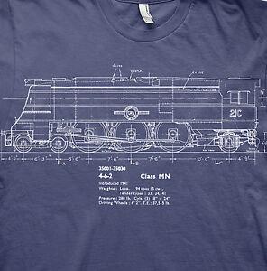 Merchant navy class locomotive model railways t shirt