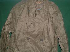 ARMY VIETNAM ERA 1963 LIGHT WEIGHT RAIN TRENCH COAT  RAINCOAT 38 REG. OD
