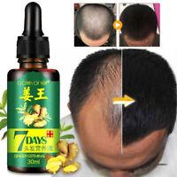 ReGrow 7Day Ginger Germinal Serum Essence Oil Loss Treatement Growth Hair 30ml