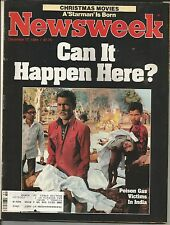 VINTAGE DEC 17,1984 NEWSWEEK POISON GAS VICTIMS IN INDIA  MAGAZINE