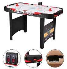 Hockey Table Air Powered W Pucks Electronic Scoring Indoor Sports Kid Game 48""