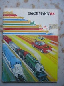 1982 Bachmann Catalog - HO Trains & Slot Cars