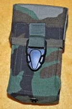 Mag Pouch Double Old Pattern Woodland Designated Marksman 308 7.62 20 rd mags
