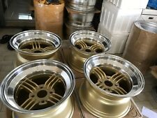 JDM 15x9 Spokes 114.3x4 wheels 240z devil shadow ssr watanabe Z31 s30 ae86 s31