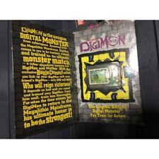 Original 1997 Bandai Digimon Digivice V Pet V1 US Eng Transparent Tested Boxed