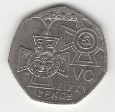 V C Cross 2006  50p COIN  Hunt FIFTY PENCE
