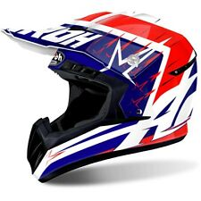 Airoh Switch Startruck Motocross Off Road Enduro MX Peak BMX ACU Helmet - Red