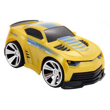 2.4G Voice Command Car Smart Remote Control RC Racing Kids Boys Toy Car Yellow