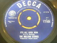 "ROLLING STONES - IT'S ALL OVER NOW    7"" VINYL"